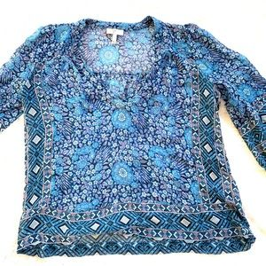 Joie 100% silk blouse size small